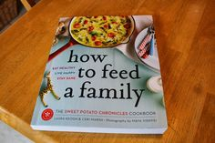 There's a lovely review of How to Feed a Family on Happy Canadian Family today!
