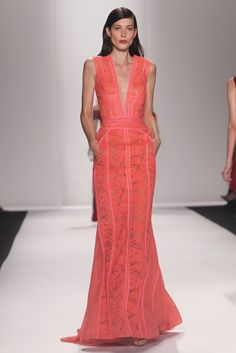 J.Mendel RTW Spring 2014 haute couture dress runaway catwalk red carpet glamour designer gown