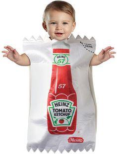 Disfraz de ketchup.