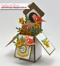 Bird House Card in a Box