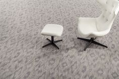 Industry-leading print technology evolves with #color placement at the yarn level with the Allegory Collection from Milliken.  #modularcarpet #interiordesign #officeinteriors #flooring
