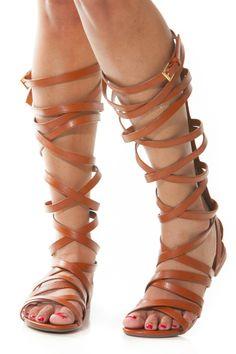 Knee High Gladiator Sandal Boots   gladiator knee high sandal item no shoes sandals ooc peru 05 $ 35 10 ...