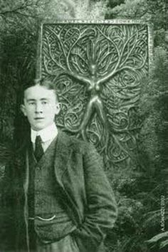 A young J.R.R. Tolkien