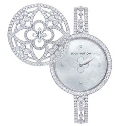 @Louis Vuitton Les Ardentes secret watch revealed. | The Jewellery Editor