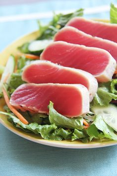 Seared Tuna with Was