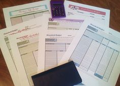 Free printable Monthly Budget Worksheets!!!!!