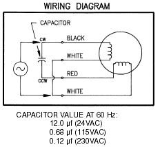 Wiring Diagram For Electric Motor With Capacitor - Wiring Diagrams on