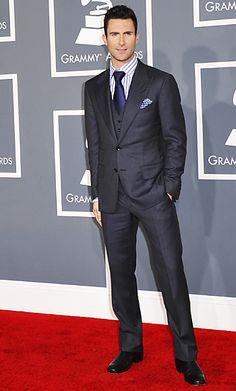 Adam Levine in suit hotness!!