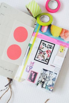 DIY Diary - Fun Summer Scrapbook