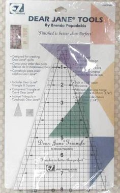 Dear Jane Tools Triangle and Square NIP EZ Quilting Tools Sealed  $16.99