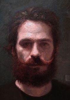 digit paint, el coro, face, digital paintings, self portrait painting, art, beard, coro selfportrait, coro pet