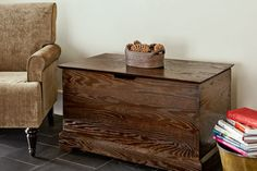 How to join oak lumber with wood dowels to create a modern take on Shaker-style storage. | Photo: Ryan Benyi | thisoldhouse.com