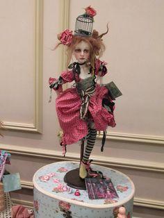 rag patch girl by Val Zeitler