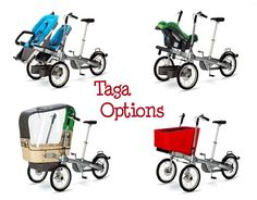 How awesome is this? Taga bike options