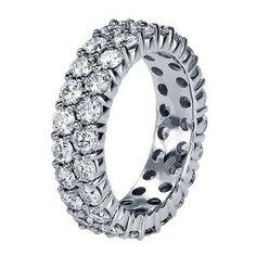 Diamond Eternity Wedding Band in Platinum wedding-bands