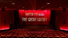 Screening Room at BAFTA, 195 Piccadilly