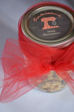 Mason jar labels for
