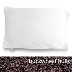 Natural Buckwheat Bed Pillow. TMJ gone, headaches gone, neck pain gone!  This pillow is a miracle worker. beds, natur buckwheat, bed pillow, buckwheat bed, pillows