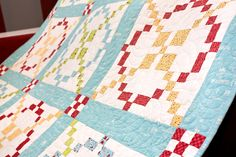 APQ's Tone it Down Quilt by Kimberly Jolly is complete!