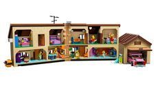 Official photos of the Lego Simpsons House—one of the best sets ever. I can't wait.
