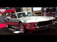 2013 #OUSCI competitor, the MachForty 1969 Mach 1 and Ford GT in one at SEMA 2012