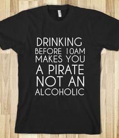 Like a pirate