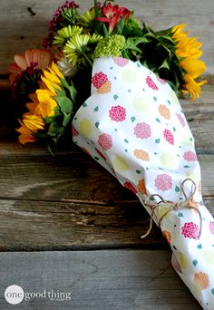 "Dress up ""grocery store flowers"" for Mother's Day!"