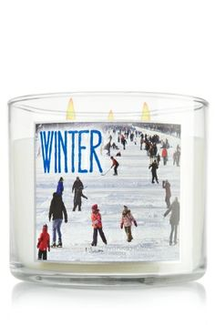 Winter 14.5 oz. 3-Wick Candle - Slatkin & Co. - Bath & Body Works