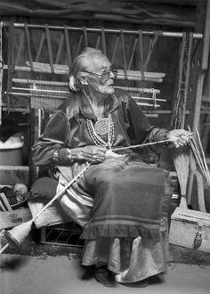 Navajo Weaver by Robert Gaunt,