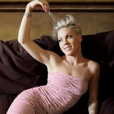 Pink the Singer: A Softer Shade - Photo by: Lorenzo Agius http://www.womenshealthmag.com/life/singer-pink