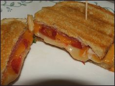 Our Grilled Panini Sandwich recipe, using George Foreman indoor grill