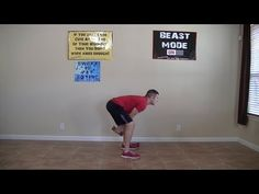 Join Freddie through his 10 minute easy leg workout. HASfit's beginners workout for legs only requires a light pair of dumbbells. The beginn...