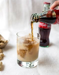 The Tallulah: coke + peanuts + whiskey | 23 Icy Caffeinated Cocktails