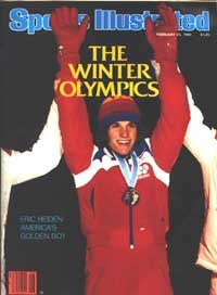 Eric Heiden wins 5 individual gold medals at the 1980 Winter Olympics