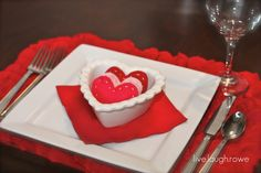 DIY Tutorial: Rose Petal Placemat