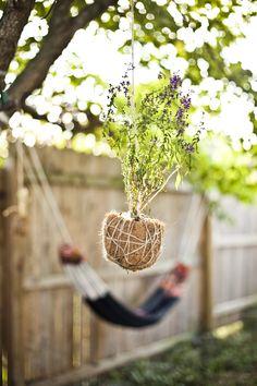 DIY: hanging garden
