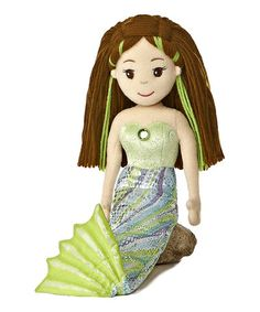 Take a look at this Sabrina Mermaid Doll by Aurora World Inc. on #zulily today!
