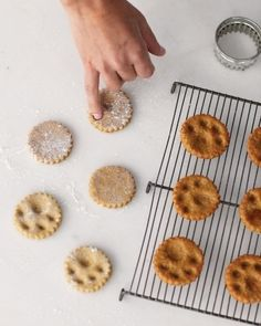 Paw-print biscuits. | How To Host The Perfect Puppy BowlParty