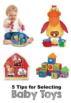 5 Tips for Selecting Baby Toys  *great list