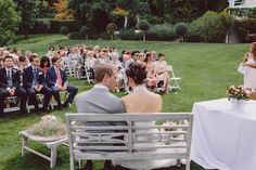 Benches featured in this year's weddings.  So much more cosy than two chairs. http://www.annenaylorcelebrant.com/