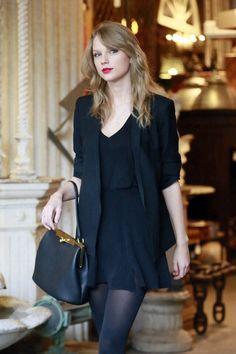 mini dress, blazer style, outfits, fashion, taylorswift, black blazer, bag, taylor swift style 2014, photo galleries