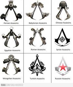 Assassin Symbols - Assassin's Creed