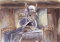 rabbit art, artist nz, bunni rabbit, mother rabbit