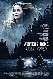 Winter's Bone: Raw. Film, story, and acting all stripped clean of excess fat. Lean as a starved out hound. Excellent.