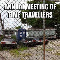 Time Travelers unite!