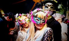 Colourful masks