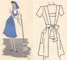 retro housewife - LOVE it!