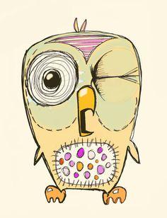 'Owl' by Jamie Clayton