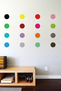 wall decal // dots