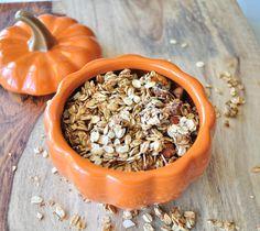 Pumpkin Spice Granola - My Whole Food Life